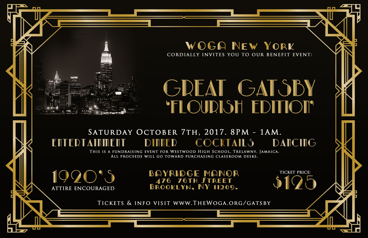 WOGA New York | Great Gatsby 10-7-2017 Brooklyn NY | Westwood Old Girls Association